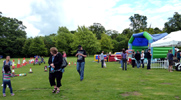 Hitchin Priory played host to a Family Fun Day on Father's Day